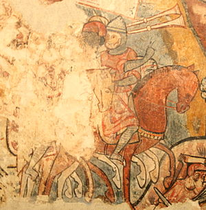 Mural paintings of the conquest of Majorca - Trumpets of the Conquest of Mallorca-MNAC