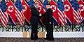 Trump shaking hands with Kim in Hanoi Summit.jpg