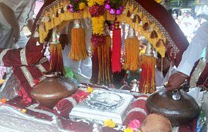 Pandharpur Wari - Tukaram Maharaj palkhi (palanquin)