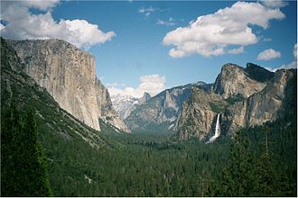 History of California before 1900 - California's Yosemite Valley