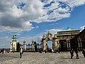 Turul and Habsburg Gate, 2013 Budapest (314) (13227952405).jpg