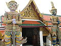 Two Giant Guardians in Wat Phra Kaew.JPG