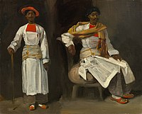 Two Studies of an Indian from Calcutta, Seated and Standing A11122.jpg