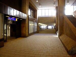 Tysta Mari - Tysta Marigången walkway in Stockholm