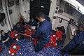 U.S. Sailors perform maintenance on life preservers aboard the aircraft carrier USS George H.W. Bush (CVN 77) in the Atlantic Ocean May 21, 2013 130521-N-FE409-027.jpg