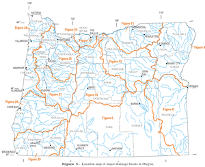 List of rivers of Oregon
