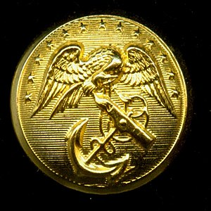 Eagle, Globe, and Anchor - Image: USMC old EGA button