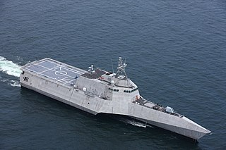 USS <i>Charleston</i> (LCS-18) Independence-class littoral combat ship of the United States Navy