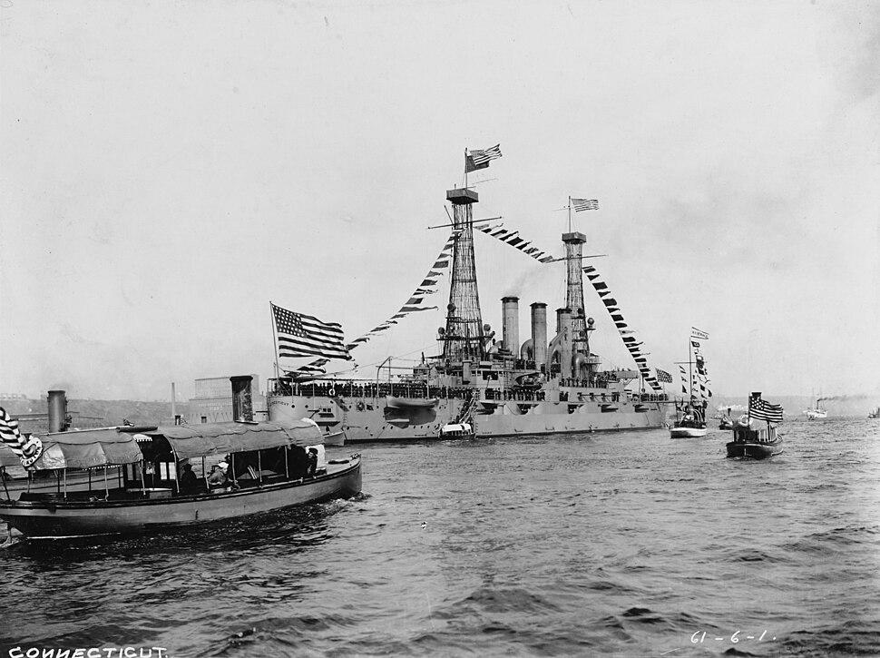 USS Connecticut - NH 2325