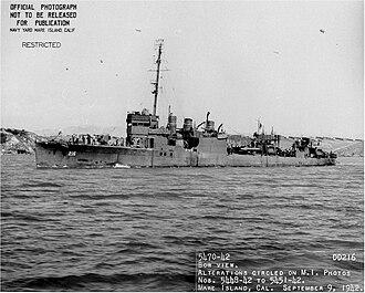 USS John D. Edwards (DD-216) - USS John D. Edwards (DD-216)