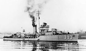 USS Jarvis (DD-393)