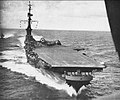 USS Midway (CVB-41) underway in the Caribbean Sea in early 1946.jpg