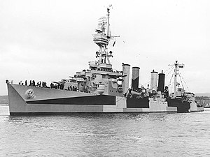 USS Richmond in June 1944