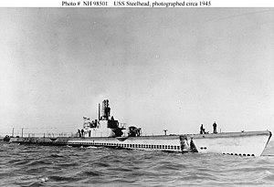 Steelhead (SS-280) c. 1945.