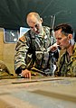 US Army captain provides operations brief to Australian Army major general 130723-A-ZX807-008.jpg