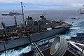 US Navy 100318-N-4275C-306 SS Carl Vinson (CVN 70) receives fuel from USNS Rainier (T-AOE 7).jpg