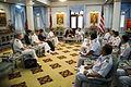 US Navy 101122-N-5549O-107 Secretary of the Navy (SECNAV) the Honorable Ray Mabus visits with Adm. Supakorn Buranadilok, commander of the Royal Tha.jpg