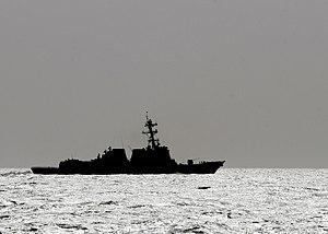 US Navy 120214-N-BC134-258 The Arleigh Burke-Class Destroyer USS Momsen (DDG 92) transits through the Arabian Sea.jpg