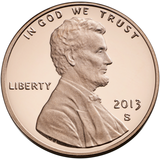 Lincoln cent One-cent United States coin