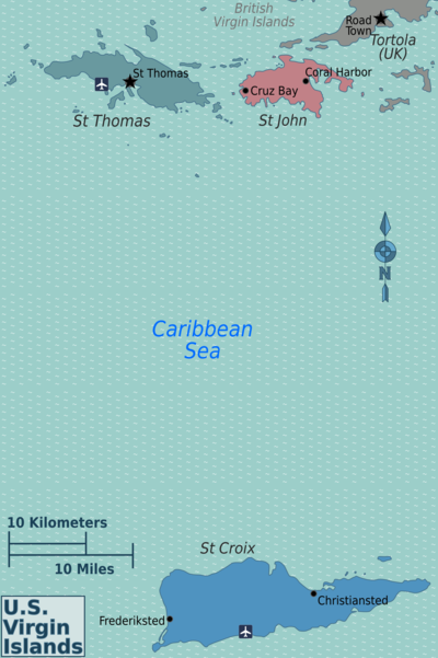 U S Virgin Islands Travel Guide At Wikivoyage