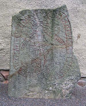 Jarlabanke Runestones - The runestone U 127.