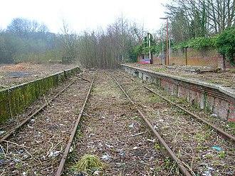 Wealden Line - Remains of original Uckfield station.