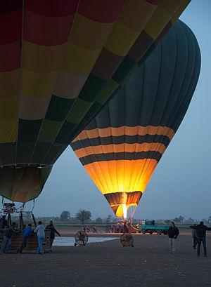 2013 Luxor hot air balloon crash - Image: Ultramagic N 425 balloon, registration SU 283