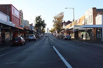 Ulverstone, Tasmania - A view of the main street of Ulverstone, Tasmania