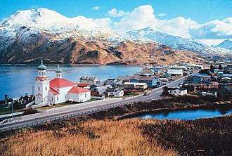 Aleutian Islands - Unalaska Island in the Aleutian Islands.
