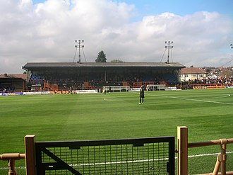 London Football Association - The Underhill Stadium at Barnet staged Athenian League football from 1912 to 1965