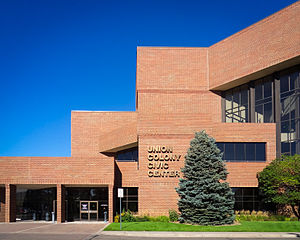Greeley, Colorado - The Union Colony Civic Center, a performing arts facility in Greeley.