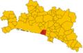 Unione dei comuni del Golfo Paradiso-mappa.png