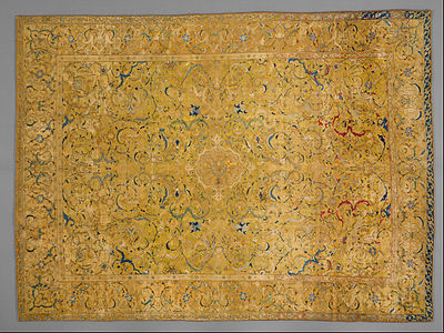 Unknown, Iran - Silk Carpet - Google Art Project.jpg