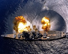 Modern Warfare: US battleship, 1984