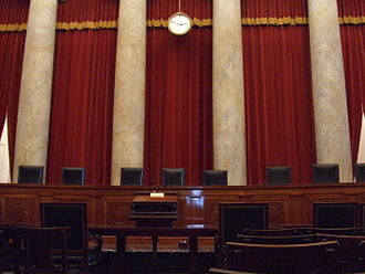 Yarborough v. Alvarado - The interior of the United States Supreme Court Building, where oral arguments take place.