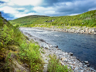 Tana (Norway) - View of the river