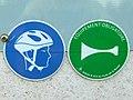 Véloroutes et voies vertes de France, panneaux routiers.jpg