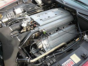 Aston Martin Virage - Aston Martin Virage engine bay