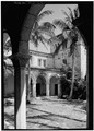 VIEW FROM NORTH LOGGIA TO EAST LOGGIA - McAneeny-Howerdd House, 195 Via Del Mar, Palm Beach, Palm Beach County, FL HABS FLA,50-PALM,8-11.tif