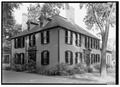 VIEW FROM THE EAST - Wright Tavern, 2 Lexington Road, Concord, Middlesex County, MA HABS MASS,9-CON,10-2.tif