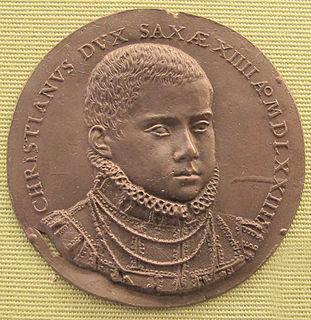 Christian I, Elector of Saxony Elector of Saxony