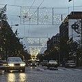 Valoviikot Tampereen Hämeenkadulla vuonna 1974.jpg