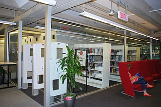Concordia University Library - Image: Vanier Library's Course Reserves Room