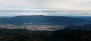 Vassfjellet - Image: Vassfjellet From Storheia