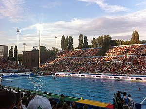 Hungary men's national water polo team - semifinal against Italy in 2014 Men's European Water Polo Championship