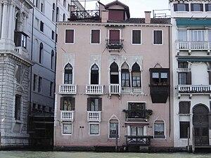 Venetian Gothic architecture - Image: Venezia Palazzo Minotto Barbarigo facciata