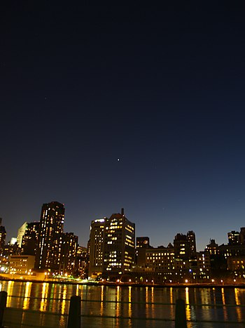 Venus Over New York