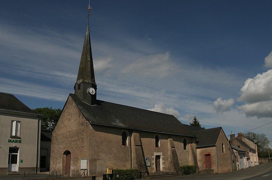 Église Saint-Martin-de-Tours de Vergonnes.