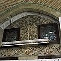 Vertrek S.08 (= nieuwe keuken) Interieur, detail keuken- decoratief schilderwerk aan de oostkant. - Haarzuilens - 20381165 - RCE.jpg