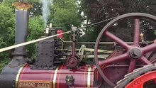 File:Video of steam traction engine at work.webm